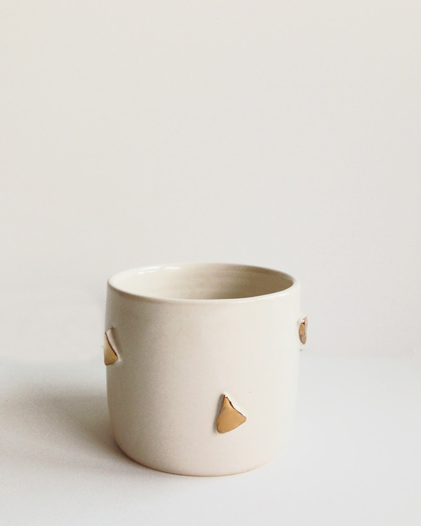 Helen Levi F&F Exclusive Triangle ceramic planter