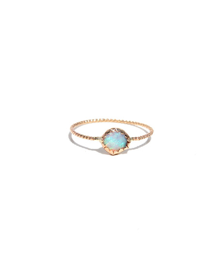 Lumo Gold Opal Ring
