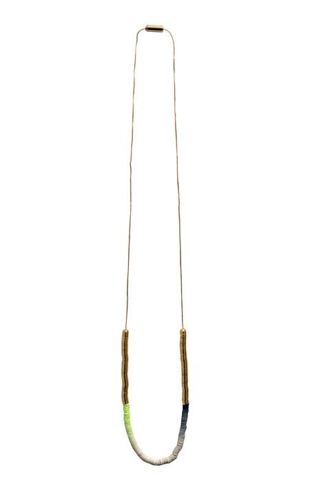 Julie Thevenot Gradient Simple Island Necklace