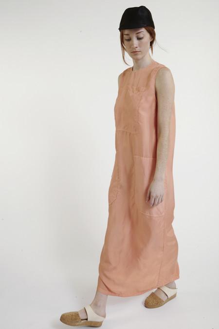 LF Markey Jackson Silk Dress in Orange