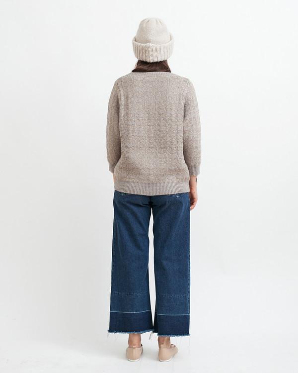 Sessun Little Diamonds Alpaca Lurex Sweater