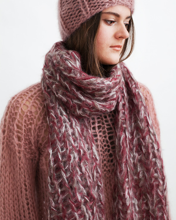 Maiami Mohair Melange Scarf