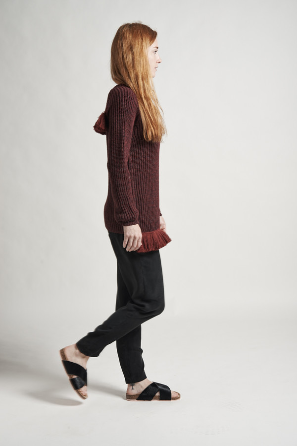 Delfina Balda Stone Sweater