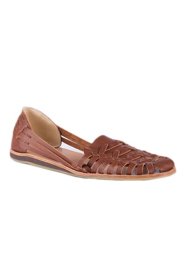Nisolo - Ecuador Sandal in Burnt Sienna