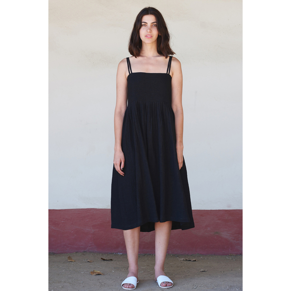 FIRSTRITE SUN DRESS - BLACK