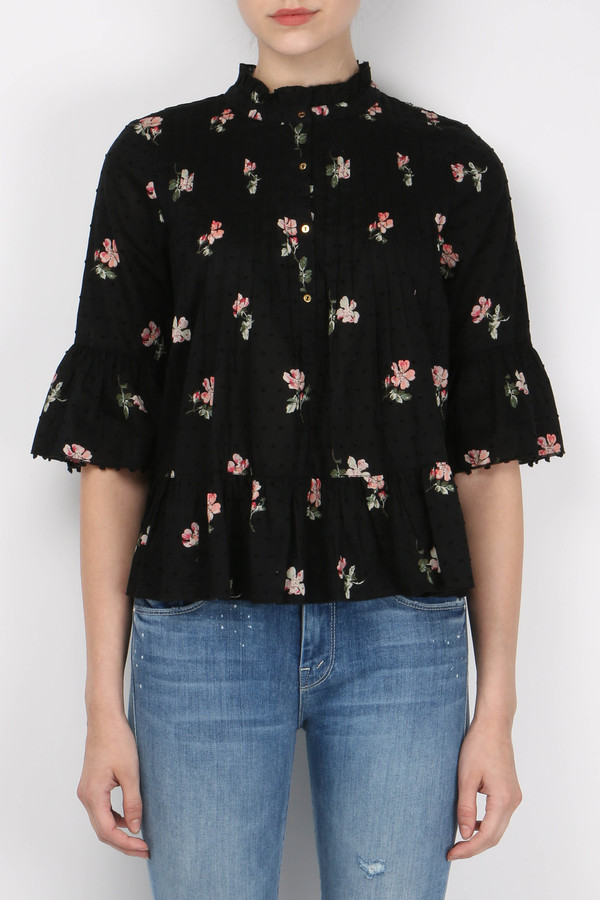 Ulla Johnson Charlotte Blouse