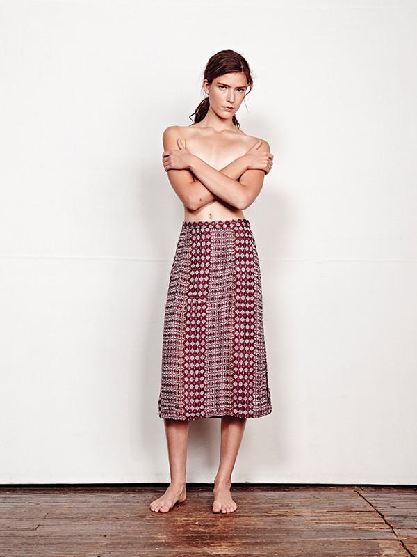 Ace & Jig Gallery Skirt - Sable