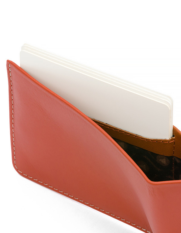 Men's Bellroy Low Down Wallet Tamarillo