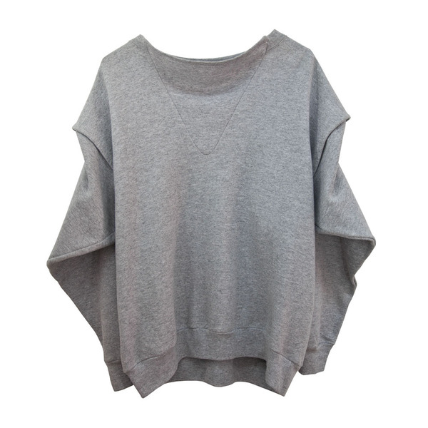 Funnel Neck in Grey