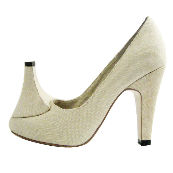 Heel Toe Pump I Size 36