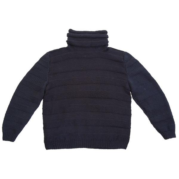 Horizontal Knit Turtleneck