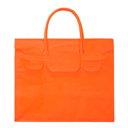 Slow and Steady Wins the Race Rectangular Bag in Orange
