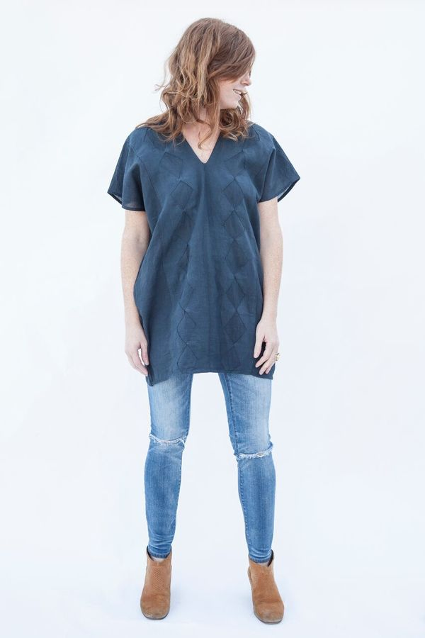 Oh! Fox Cotton Diamond Tunic