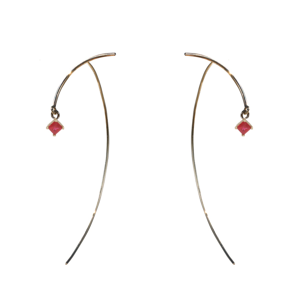 "Tara 4779 ARC ""Stabile"" Earrings - Ruby"
