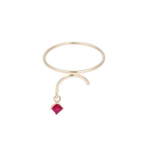 Tara 4779 ARC ring - Ruby