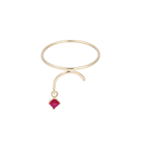 Tara 4779 ARC ring - Ruby