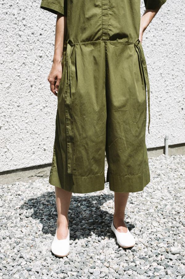 Kowtow Pen to Paper Jumpsuit - olive