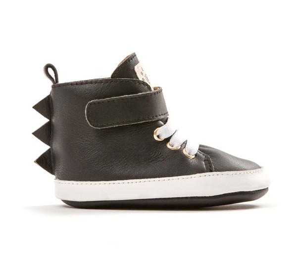 Pretty Brave Hi-Top Black Dragon Boot