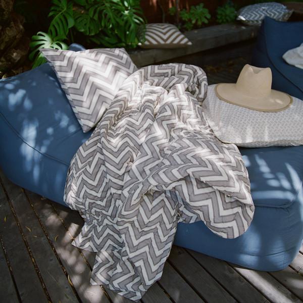 Erica Tanov zigzag quilt