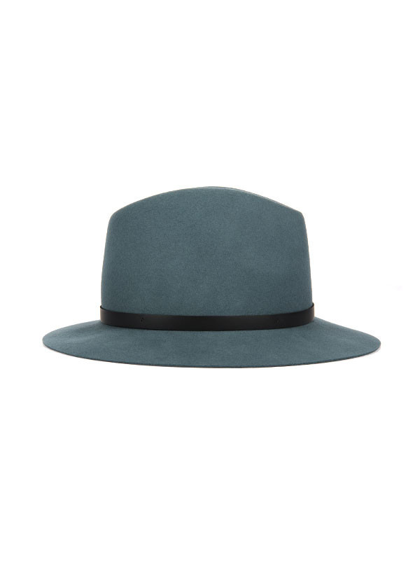 Rag & Bone - Floppy Brim Fedora in Slate