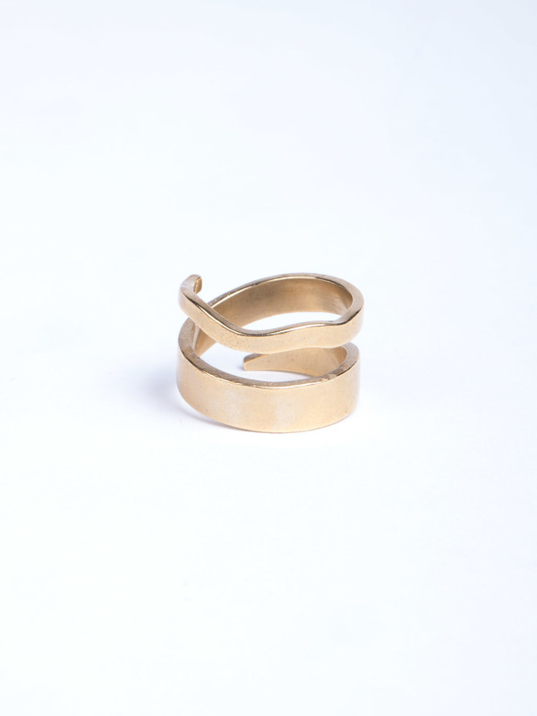 Stvdio Brooklyn Louisa Wrap Ring