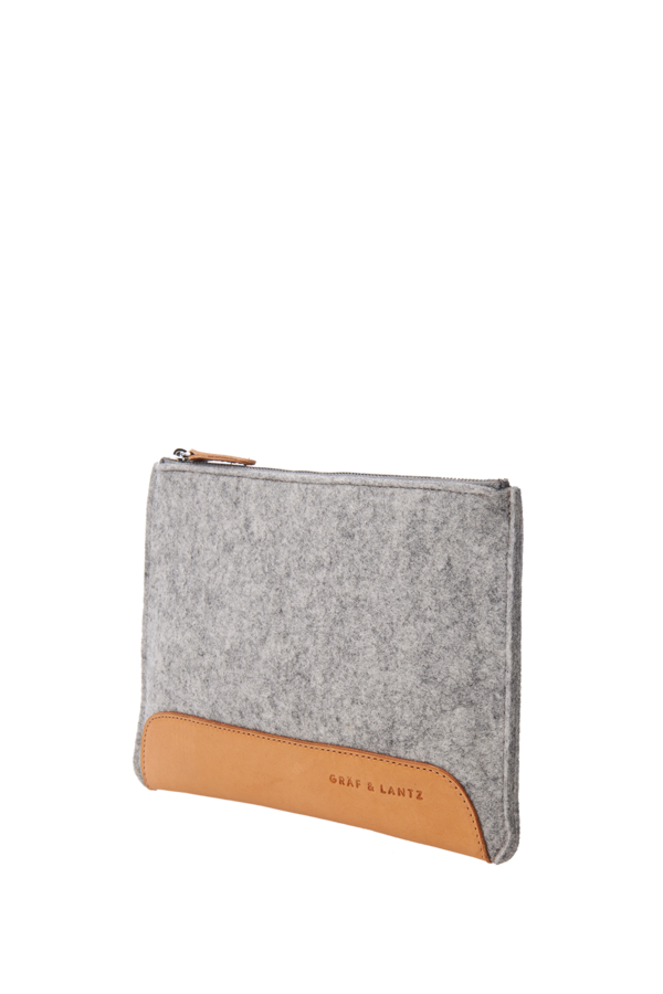 Andie pouch petite grey