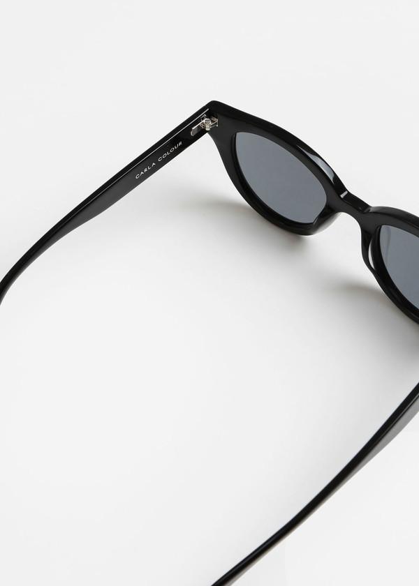 Carla Colour Barton Sunglasses in Midnight+Haze