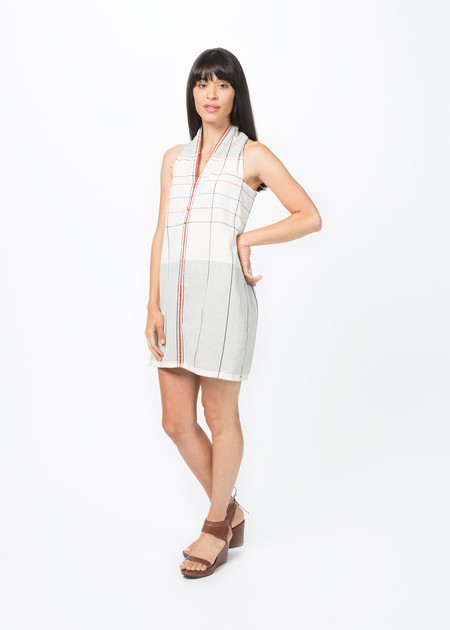 Guate Va Vest D2 V-Neck Dress