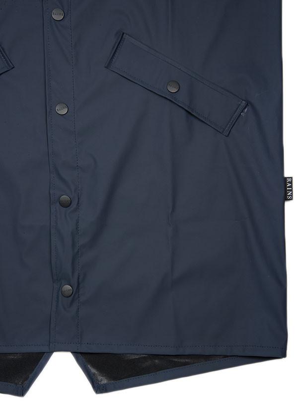 Rains - Long Jacket in Blue