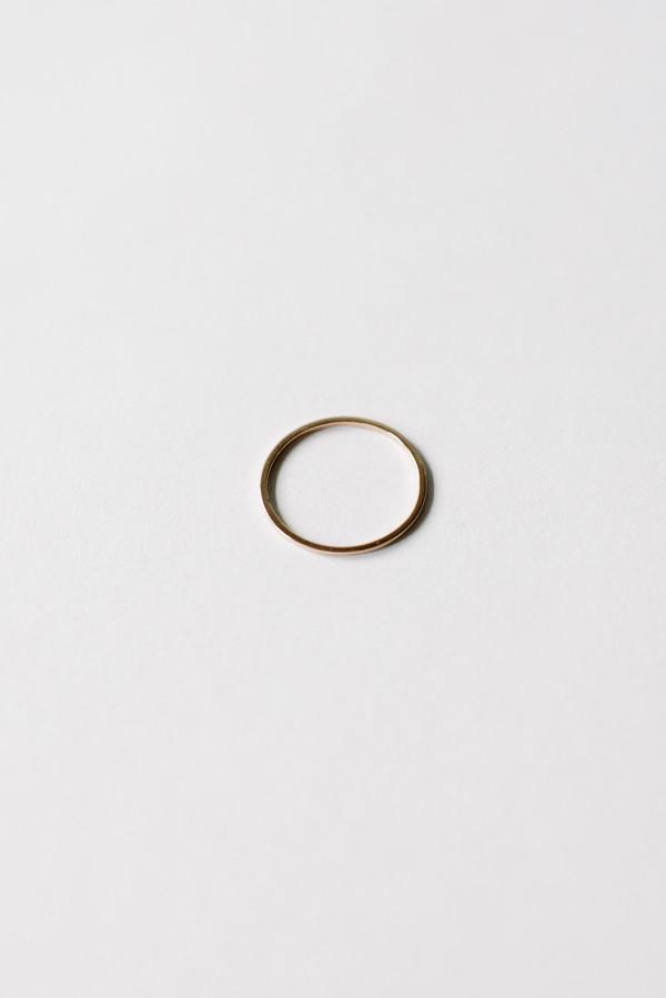 Bario Neal Milla Ultra Thin Band - 14k Rose Gold