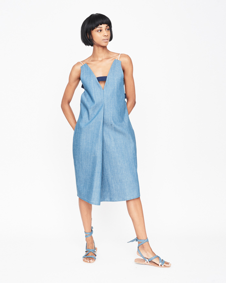 William Okpo Brandi Vee strap dress