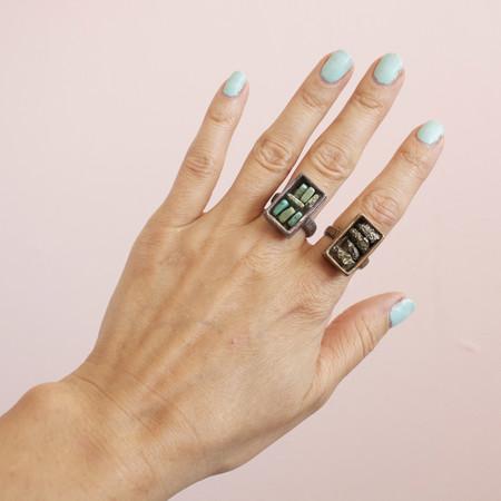 Gretchen Jones box rings