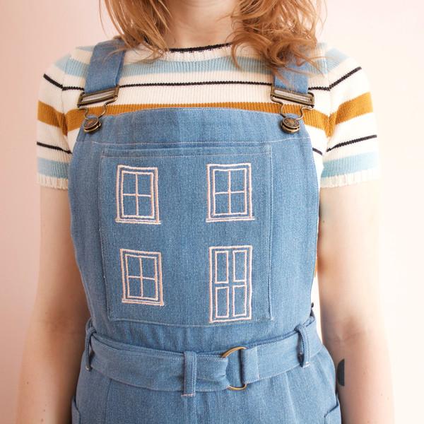 Samantha Pleet Home Sweet Home overalls