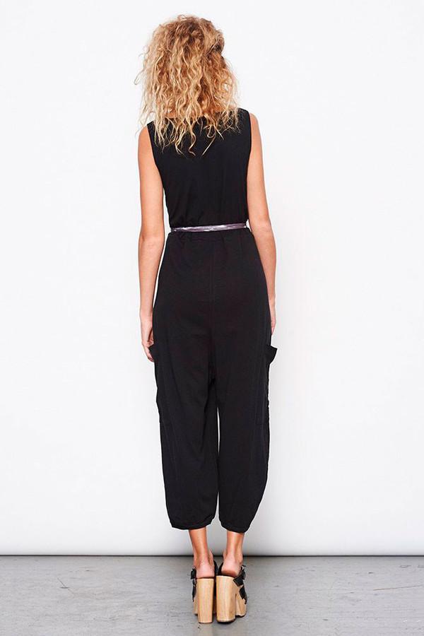 Jersey Jumper in Black - MARY MEYER