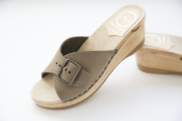 No.6 Nonna Clogs in String Suede
