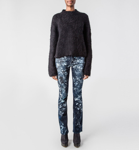 VOZ Black Turtleneck Sweater