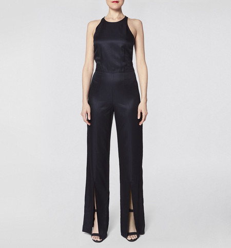 VOZ Slit Jumpsuit