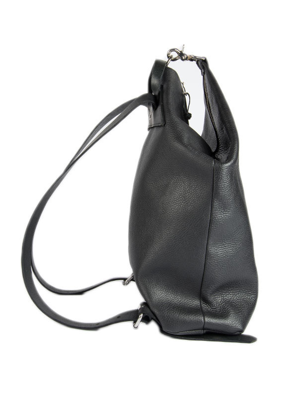 The Stowe - Denny Backpack in Black