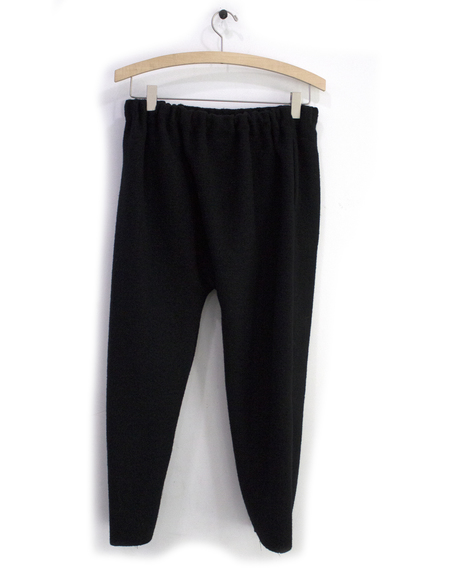 Priory Judd Pant Boiled Wool Black