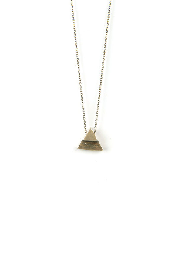 The Things We Keep - Clara Necklace in Bronze or Sterling Silver