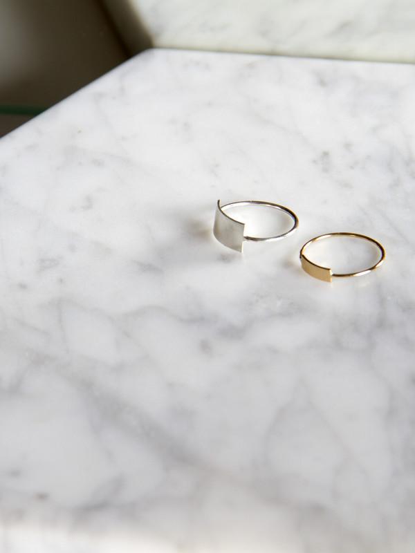 Kristen Elspeth Blade Ring Gold