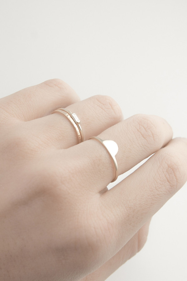Emi Grannis Half Moon 14k Yellow Gold Ring