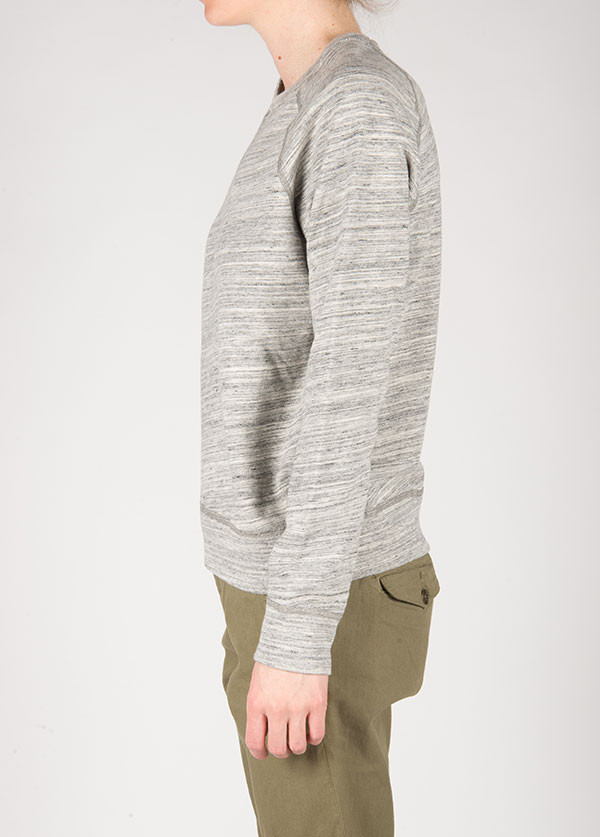 The West is Dead - Crew Neck Sweatshirt in Marbled