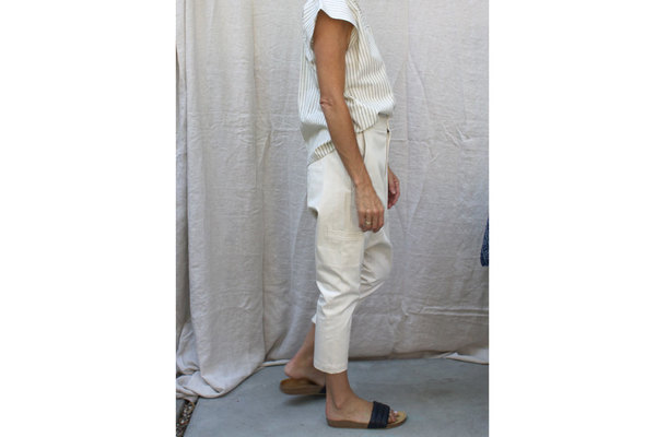 Mara Pant in Canvas