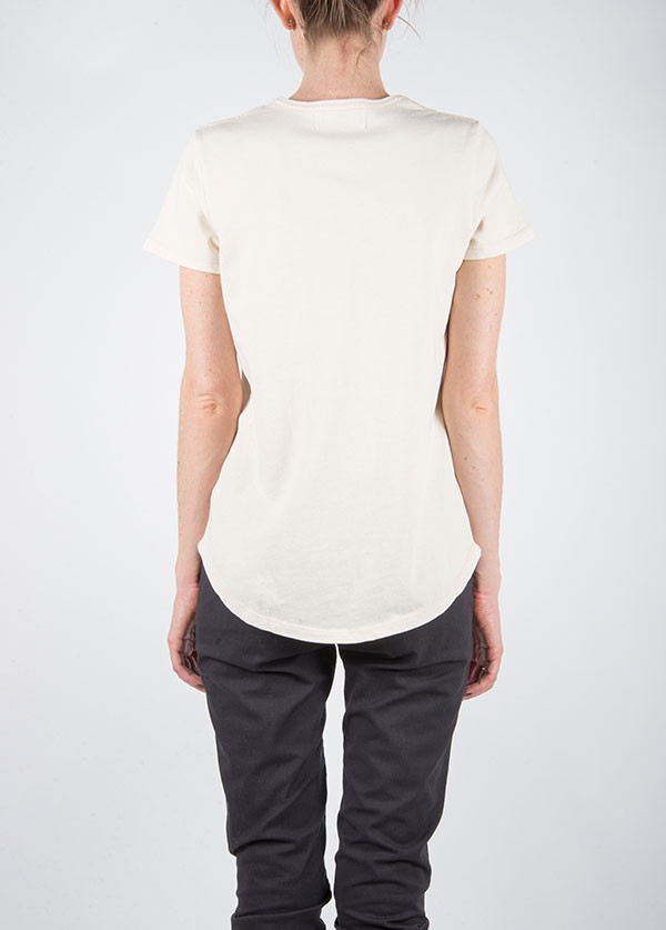 The West is Dead - Pocket Tee in Oatmeal
