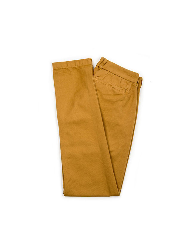 The West is Dead - Slim Chino Pant in Gold Dust