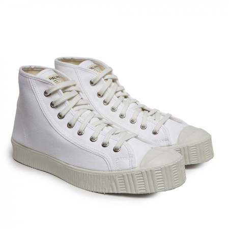 Unisex Spalwart Cotton Special Mid Sneaker - White