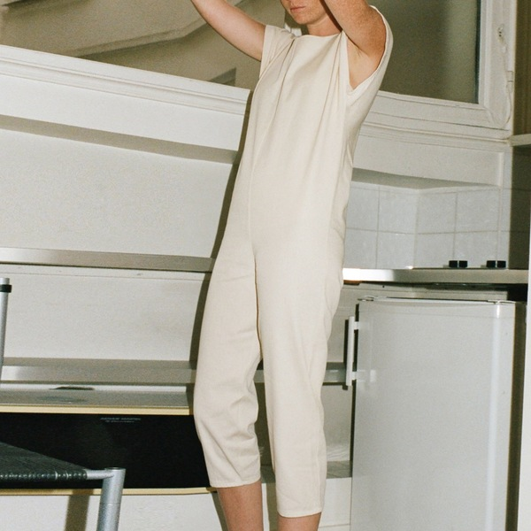Baserange Savannah Long Romper Cotton