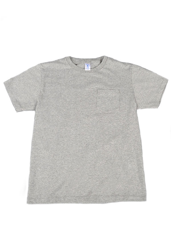 Velva Sheen - Crew Neck Pocket T-Shirt 2-Pack in Heather Grey