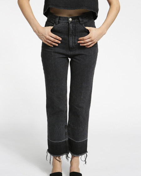 Rachel Comey Slim Legion Denim Pant in black